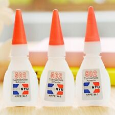 2/5/10pcs 502 Super Glue Cyanoacrylate Instant Strong Adhesive Fast New Type