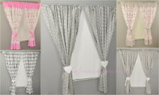 Children Bedroom  Window Curtains /Pencil Pleat/ tiebacks/Slot Top Baby Nursery