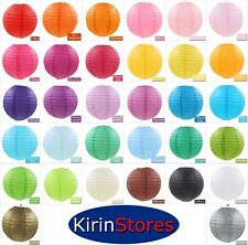 "20"" Paper Lanterns Multi Color Decorative Round Chinese Japanese Home Decor 50cm"