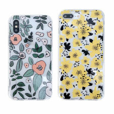 For iPhone X XS Max XR 6 7 8 Plus Little Yellow Flower Silicone Phone Case Cover