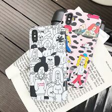 Cute Cartoon Soft Silicone Phone Case Cover For iPhone X XS Max XR 6 7 8 Plus