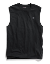 2 Champion Men's Classic Jersey Muscle Tee Shirts T0222