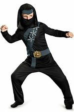 Blackstone Ninja Shadow Night Fury Black Fancy Dress Up Halloween Child Costume
