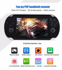 Portable 4.3'' 8GB 32Bit 1000 Games Built-In Handheld MP5 Video Game Console US