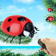 Children Tricky Toys Infrared Induction Electric Remote Control ladybug Moth Toy