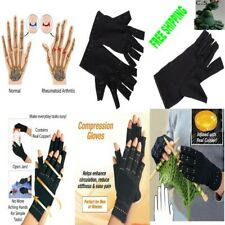 Arthritis Gloves Therapeutic Compression Circulation Grip Copper Hands, 1Pair