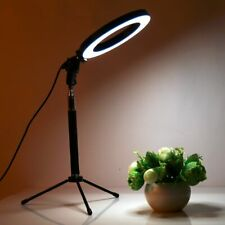 Dimmable LED Studio Camera Ring Light Photo Phone Video Lamp With Tripods Selfie