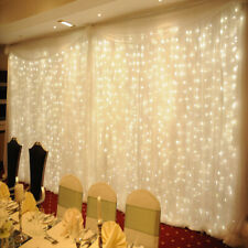 Led Icicle String Lights Fairy Christmas Party Curtain Garden Home Decor Outdoor