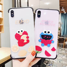 Sesame Street Silicone Phone Case Cover For iPhone X XS Max XR 6 7 8 Plus