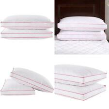 Puredown Goose Feather Down Pillow Gusseted Bed Pillows For Sleeping With Premiu