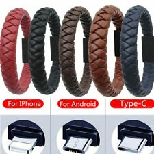 Bracelet Charging Cable - Outdoor Portable Leather Mini Type-C/8Pin/Micro USB