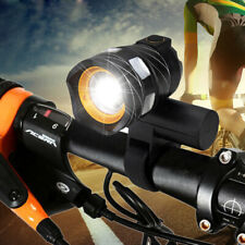USB rechargeable 15000LM XML T6 LED ZOOM front bicycle bicycle light rear light