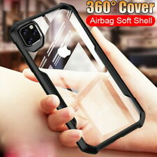 For iPhone 11 Pro Max XS XR X 7 8 Luxury Shockproof Hybrid Hard Clear Case Cover
