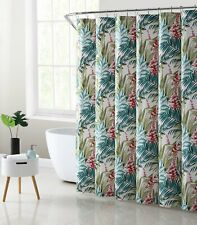 Mainstays Tropical Fabric Shower Curtain