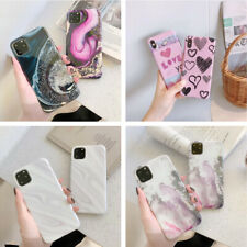 For iPhone 11 Pro Max XS XR X 8 7 6 Plus Marble Pattern Soft Silicone Case Cover