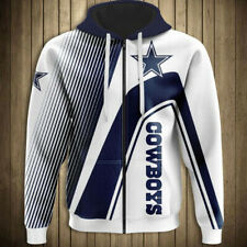 Dallas Cowboys Hoodie Hooded Jacket Sweater Pullover Jersey Football For NFL 619