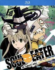 Soul Eater: The Complete Series (Blu-ray Disc, 2012, 6-Disc Set)
