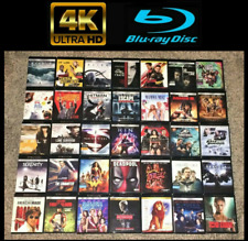4K UHD / Blu ray / DVD Movies -Updated Often -Buy 2 Save 10%!