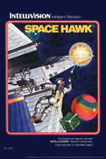 102956 Space Hawk Intellivision Box Art Video Gaming Decor LAMINATED POSTER DE
