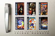 FRIDGE MAGNET - Sega Saturn Inspired Collection - IDEAL CHRISTMAS GIFT!