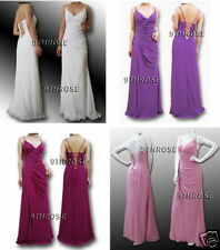 STUNNING BEADED LACE-UP BACK FORMAL/EVENING/PROM/BRIDESMAID LONG DRESS
