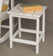 Recycled Plastic Side End Table Polywood Retro Colors