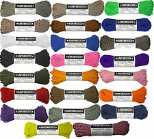 550LB 100% NYLON PARACORD TYPE III ROPE - 50 FT/100 FT