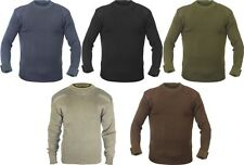 Military Army Commando Crew Neck Acrylic Sweaters