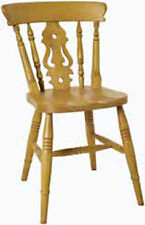 Fiddle Back Chair in solid Beech