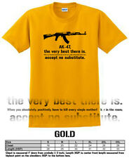 AK47 quote the best there is Russian T shirt