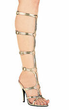 Ellie Shoes - Knee-High Strap-On Sandals - 510-Sexy