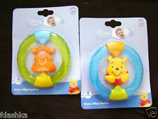 DISNEY POOH TIGGER BABY WATER FILLED SPIN TEETHER 4m+