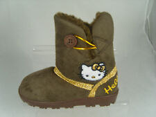 HELLO KITTY GIRLS BOOTS (SOPHIE) BROWN
