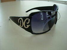 NEW DG WOMENS OVERSIZED STYLISH PLASTIC FRAME SUNGLASSES BLACK BURGANDY BROWN