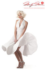 Adult Sexy Marilyn Monroe Dress Costume Halloween