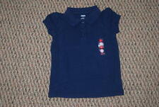 NWT Gymboree Uniform Shop Navy Polo 3 4 5 6 7 8