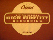 CAPITOL RECORDS VINTAGE STYLE TSHIRT
