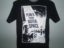 PLAN 9 FROM OUTER SPACE SI / FI HORROR FILM  T SHIRT