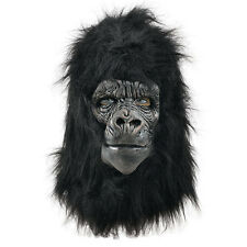 GORILLA APE MASKS DELUXE #HALLOWEEN ANIMALS & NATURE FANCY DRESS COSTUME PARTY
