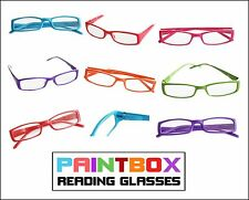 PAINTBOX Reading Glasses 1.00-2.50 BRIGHT FUN COLORS