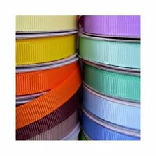 "Grosgrain Ribbon 50 Yard Roll 3/8"" 5/8"" 7/8"" 1.5"", Bulk, Wholesale, PSCRGRO"