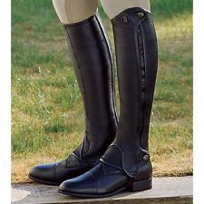 Tredstep Brown Leather DeLuxe Half Chaps