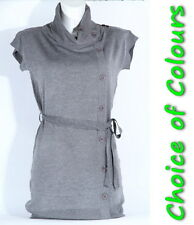 NEW Knitwear Cowl Neck Tunic Size 8-10 12-14  Top Tops
