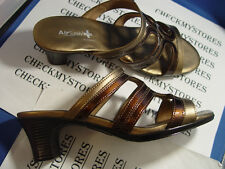 "NIB AIR SUPPLY DRESS "" TORY ""  COMFORT SANDALS SLIDES SHOES COMFORT SYSTEM"