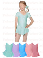 BRAND NEW GIRLS BALLET LEOTARD WITH SLEEVES AND ATTATCHED SKIRT FROM 6-10 YEARS