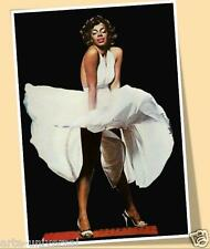 DONNA SUMMER as MARILYN MONROE PRINT POSTER SIZE MUSIC 70'S SINGER