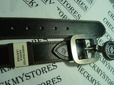 NEW $50 JOSEPH ABBOUD GENUINE HAND CRAFTED SADDLE LEATHER BELT