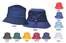 Adjustable Plain Bucket Hat / Caps With Toggle - High Quality - Special Price !!