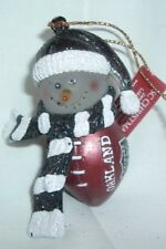 "Oakland Raiders NFL ""FROSTY"" Snowman Holiday/Christmas Ornament"