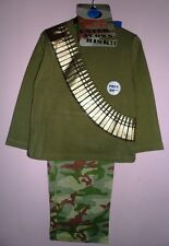 Boys pyjamas for a little soldier with combat / camouflage print, 3-10y, BNWT